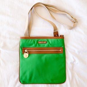 MICHAEL KORS Green Crossbody Bag